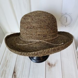August Hat Company 100% Straw Taupe Hat